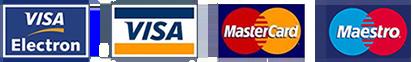 Payment options: visa, mastercard